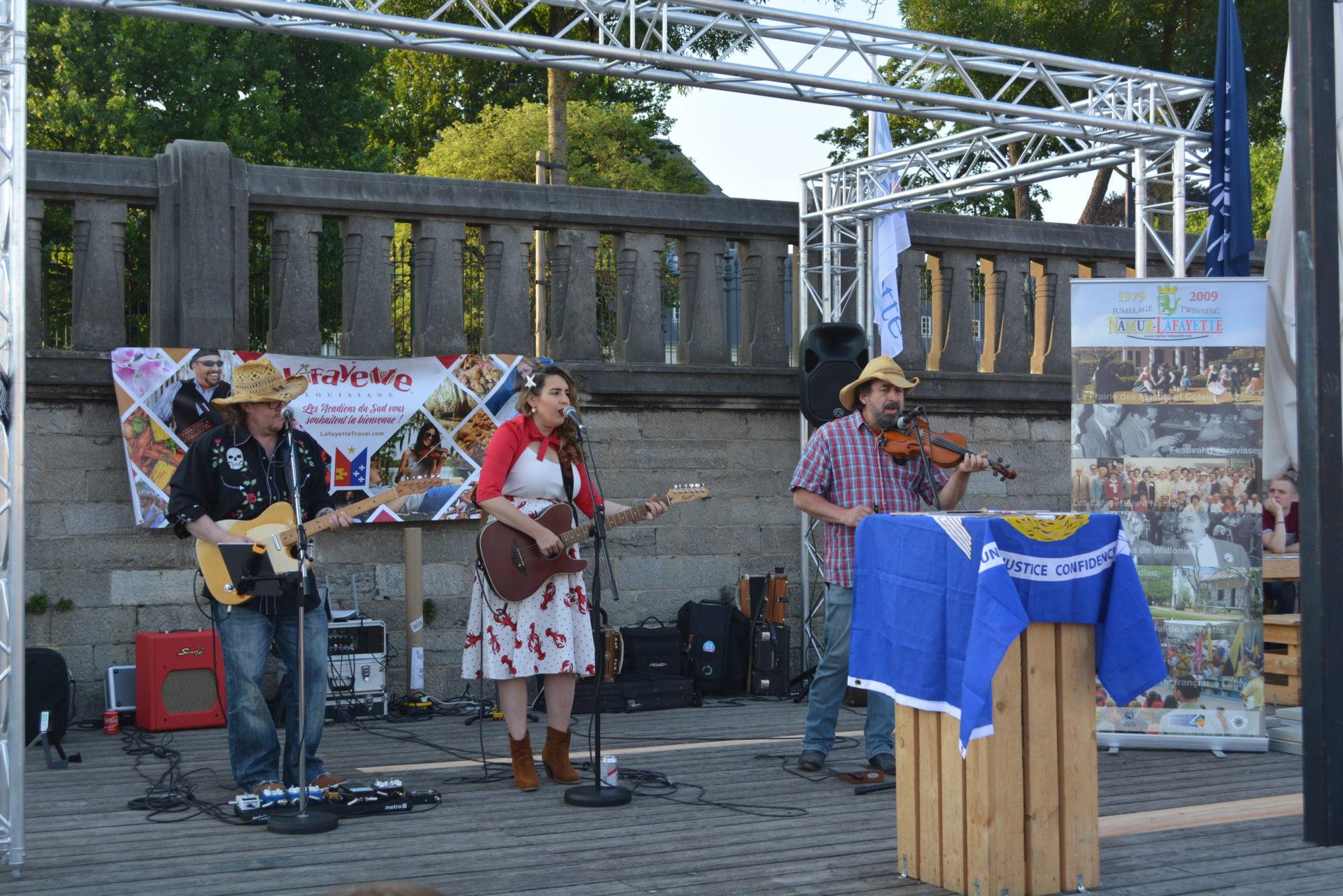 40 ans de jumelage : festivités à Namur - Concert d'Emilie Virdine