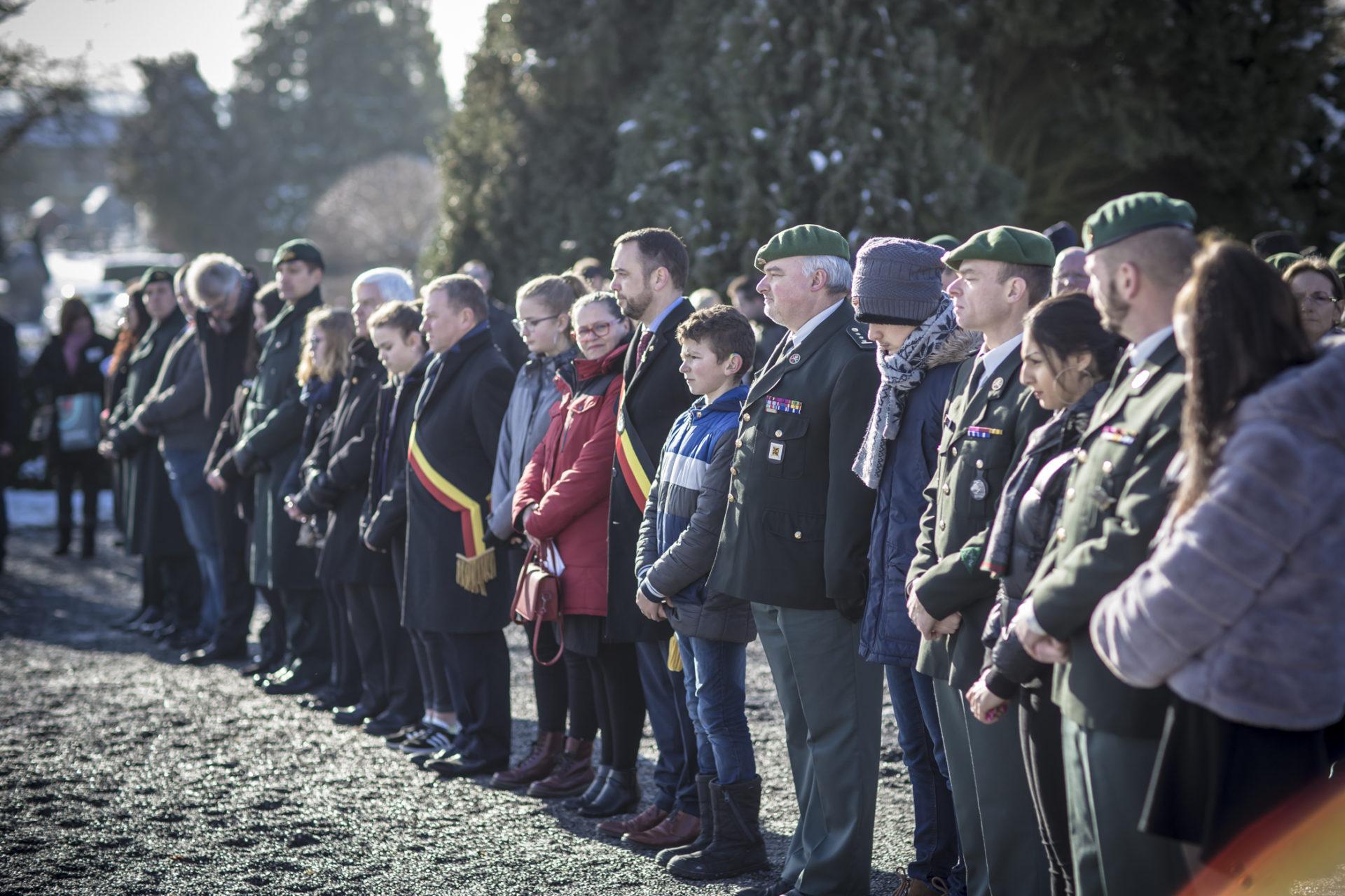 Québec - Hommage au Soldat Florian Filiatreault