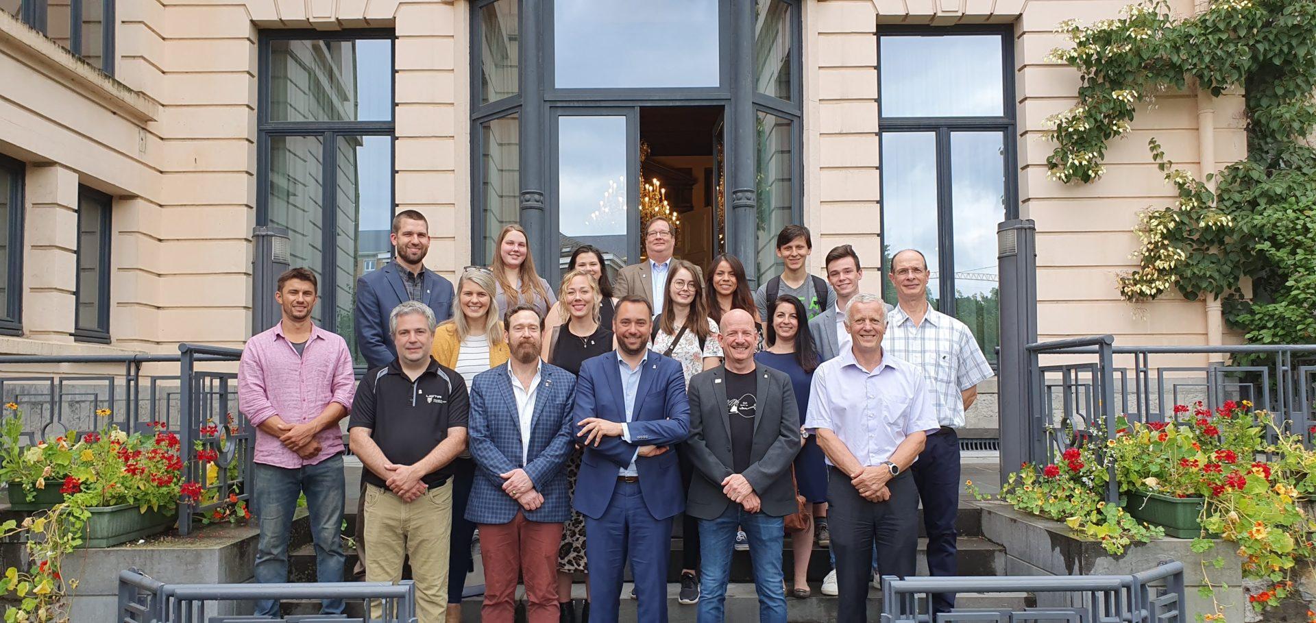 EIE 2019 - Namur - Accueil