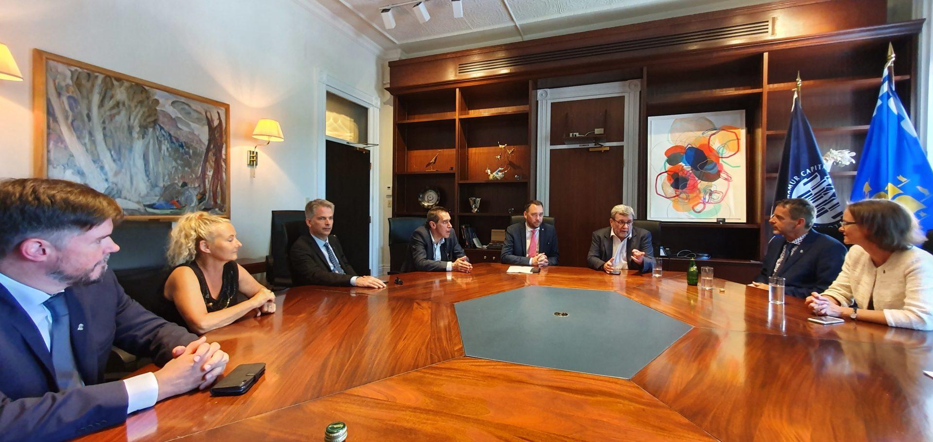 Québec 2020 - rencontre des maires