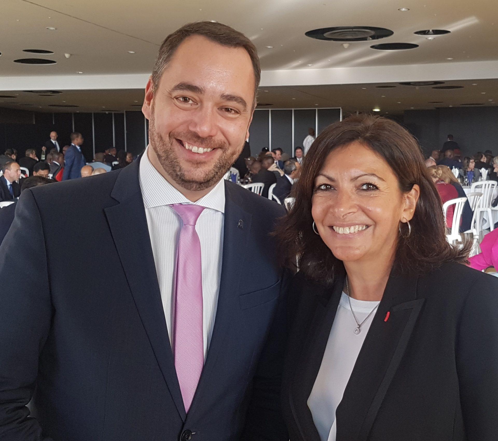 AG 2018 Anne Hidalgo et Maxime Prevot