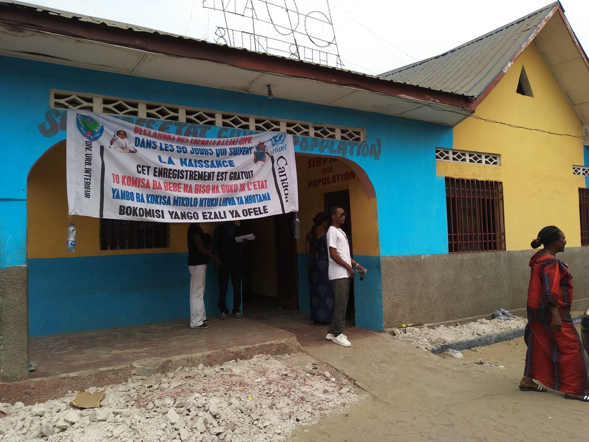 Nouveau bureau central Etat civil et Population de Masina