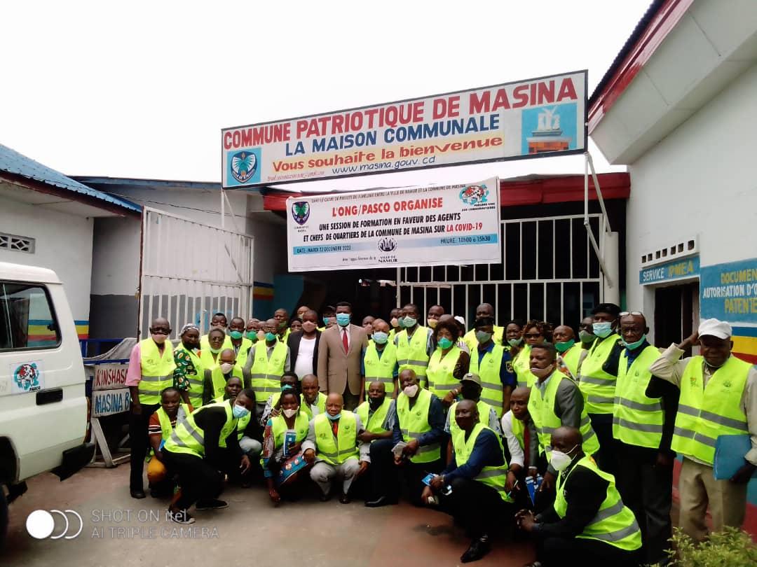 Sensibilisation à la Covid 19 par l'ONG Pasco à Masina